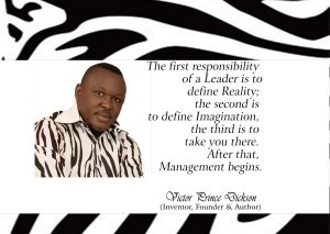 Victor Prince Dickson on Leadership