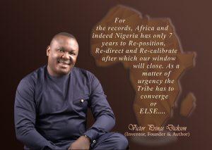 Victor Prince Dickson on Africa
